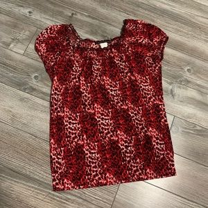 Tops - Animal print shirt